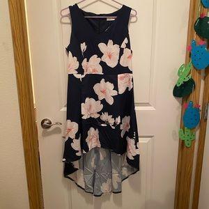 NWOT High low floral dress